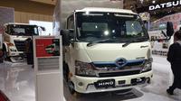 Truk Hino Dutro Hybrid di GIIAS 2019 (Amal/Liputan6.com)