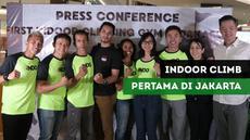 Berita Video IndoClimb Gandeng Aspar Jailolo Bangun Indoor Climbing Gym di FX Sudirman