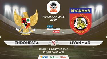 Indonesia U-18 vs Myanmar U-18