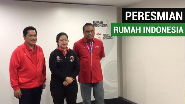 Berita video peresmian Rumah Indonesia yang diresmikan oleh Puan Maharani, senin (13/08/2018) di Epicentrum, Jakarta.