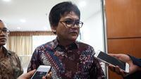 Dirjen Penyelenggaraan Pos dan Informatika Kemkominfo, Ahmad M Ramli di Jakarta, Selasa (7/11/2017). (Liputan6.com/ Agustin Setyo W)