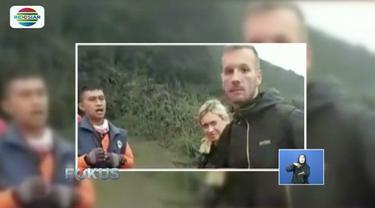 Viral aksi seorang turis asing yang melawan saat dilarang menuju ke kawah Gunung Bromo oleh petugas, ternyata lantaran salah paham karena kendala bahasa.