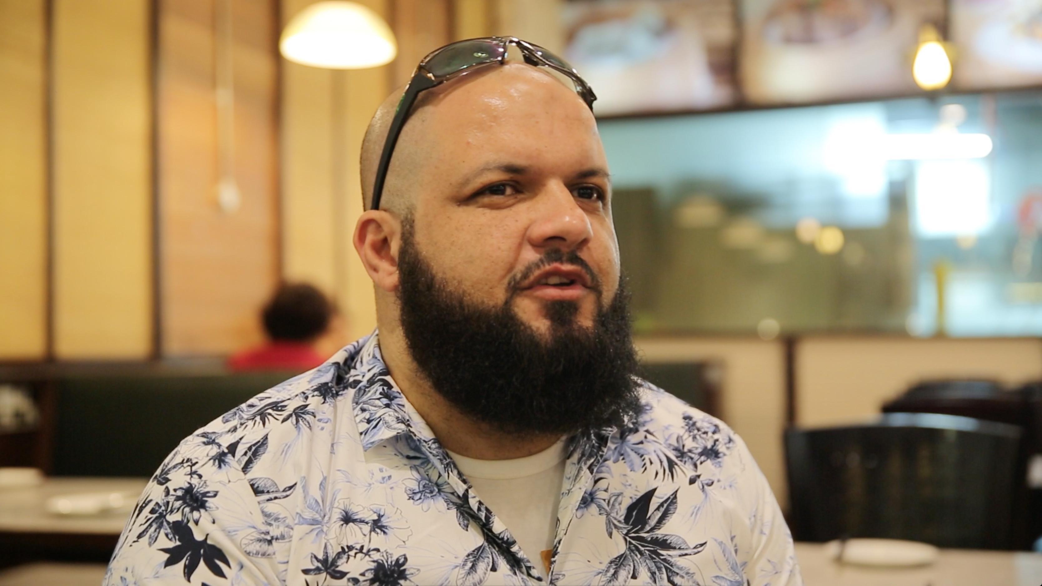 Pengusaha asal Mesir Ahmes Saber Amin mengukapkan bahwa First Travel berhutan padanya hingga Rp 25 Miliar (Liputan6.com/ Riki Dhanu)