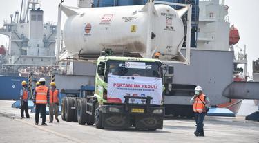 Pertamina Siap Distribusikan 100 Ton Oksigen bantuan India