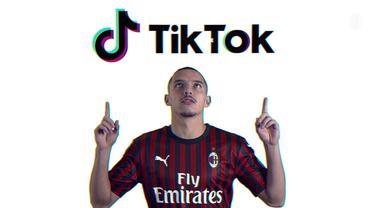 AC Milan Terkena Demam TikTok
