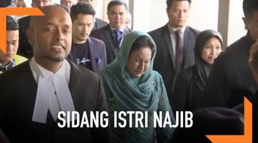 Eks ibu negara Malaysia menghadiri sidang kedua terkait kasus korupsi proyek tenaga surya untuk sekolah-sekolah pedesaan di Sarawak.