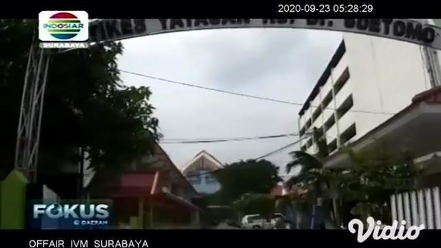 RSUD Dr. Soetomo Surabaya kembali berduka, Winarsih salah satu perawat yang bertugas di Bagian Instalasi Rawat Jalan Ruang Anak meninggal dunia akibat Covid-19, setelah menjalani perawatan 26 hari.