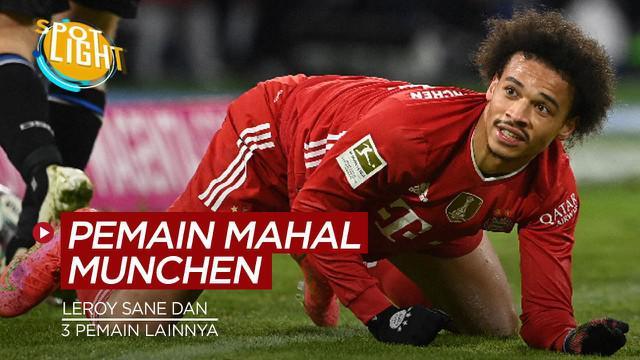 Berita video spotlight kali ini membahas tentang pembelian mahal Bayern Munchen, salah satunya Leroy Sane.