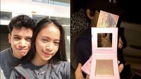 Viral pria hadiahkan make up untuk pacar (Sumber: Twitter/jyeristia___)