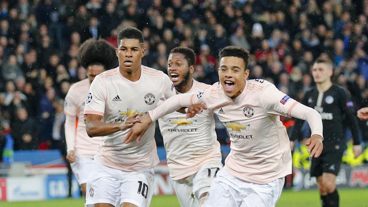 7 Selebrasi Gila Pemain dan Mantan Bintang Manchester United Usai Singkirkan PSG