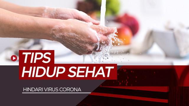 Berita motion grafis 13 tips hidup sehat dan terhindar dari Virus Corona.