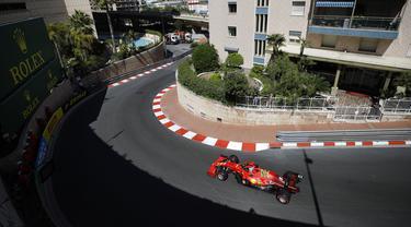 FOTO: Melihat Sesi Latihan Bebas F1 GP Monaco