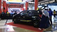 Datsun Indonesia berpartisipasi dalam Trending Worshop NMAA 2019 yang bergulir akhir pekan lalu (23-24/2) di mal Phinisi Point, Makassar, Sulawesi Selatan. (NMAA)