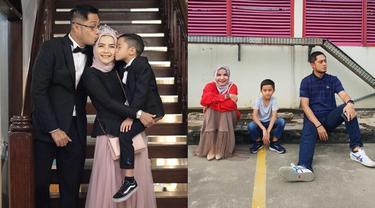 6 Potret Harmonis Keluarga Ferry Ardiansyah dan Tasya Nurmedina, Manis Banget