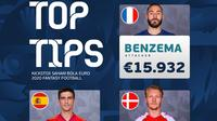 Top Tips Battle 2 Kickstox Saham Bola Edisi Euro 2020