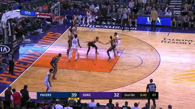 Berita Video Highlights NBA 2019-2020, Indiana Pacers Vs Phoenix Suns 112-87