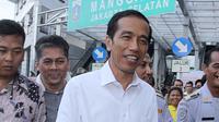 Nama calon presiden dari PDIP Jokowi kembali muncul lagi dalam soal Ujian Nasional.