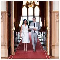 Debut Meghan Markle memperkenalkan royal baby (Instagram @sussexroyal)