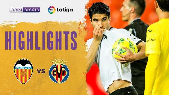 Berita video highlights Liga Spanyol, Valencia menang 2-1 atas Villareal, Sabtu dini hari (6/3/21)