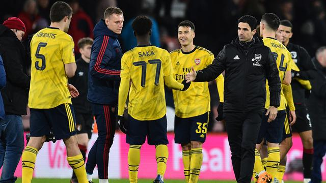 Taklukkan Bournemouth, Arsenal Melaju ke Babak Kelima Piala FA