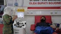 Mesin donor plasma konvalesen di Bojonegoro siap menampung penyintas Covid-19 donor darah. (Ahmad Adirin/Liputan6.com)