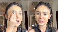 Tips makeup Yuni Shara (Sumber: YouTube/Yuni Shara Channel)