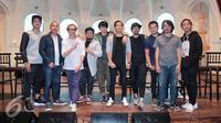 GIGI dan Nidji akan menggelar konser bareng di The Pallas, Jakarta pada 24 Mei 2017. (Herman Zakharia/Liputan6.com)