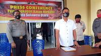 Direktorat Reserse Narkoba Polda Sulut membeberkan pengungkapan kasus sabu saat jumpa pers di Mapolda Sulut, Rabu (8/7/2020).