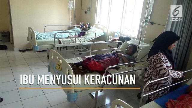 Belasan ibu menyusui di Magelang mengaku keracunan jamu untuk memperbanyak ASI.