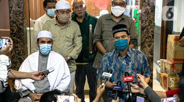 FOTO: FPI Bantah Tudingan Penyerangan Terhadap Polisi