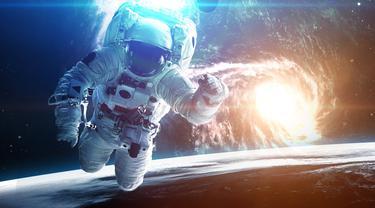 Ilustrasi Astronot Kembar (iStockphoto)