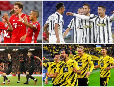 Juventus dan 4 Klub yang Paling Sering Dibobol Cristiano Ronaldo di Liga Champions