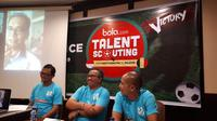 Dengan dibawa berlatih bersama klub Belgia, Sihar Sitorus berharap dapat menemukan dan menciptakan pemain berkualitas. (Bola.com/Agung Prayogo)