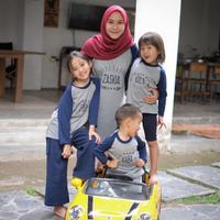 Cara Zaskia Adya Mecca curi waktu me time meski punya empat anak. (instagram/zaskiadyamecca)