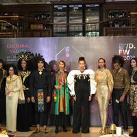 Fashion Show dalam acara presscon APPMI. (Istimewa)
