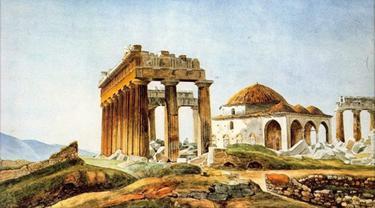 Kuil Dewi Yunani Parthenon pernah difungsikan jadi gereja dan masjid