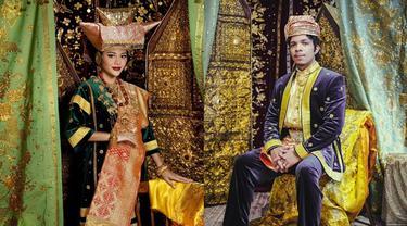 6 Prewedding Aurel Hermansyah dan Atta Halilintar Pakai Busana Adat Minangkabau