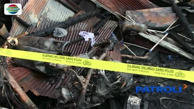 Satu rumah di Samarinda, Kalimantan Timur, terbakar, enam anggota keluarga tewas terpanggang.