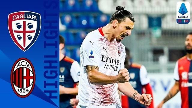 Berita video gol-gol yang tercipta dalam laga AC Milan melawan Cagliari yang berakhir dengan skor 2-0 pada pekan ke-18 Liga Italia 2020/2021, di mana 2 gol diborong Zlatan Ibrahimovic, Selasa (19/1/2021) dinihari WIB.