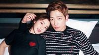 Rain dan Kim Tae Hee (Harper's Bazaar)