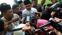Wakil Gubernur Jawa Timur Syaifullah Yusuf saat di Malang, Jawa Timur (Liputan6.com/Zainul Arifin)