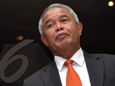 Djohar Arifin mengatakan jika bantuan FIFA itu sangat dimungkinkan karena suasana pesepakbolaan di Indonesia semakin kondusif (Liputan6.com/Helmi Fithriansyah)