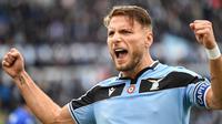 1. Ciro Immobile (Lazio) - 31 gol. (AFP/Alberto Pizzoli)