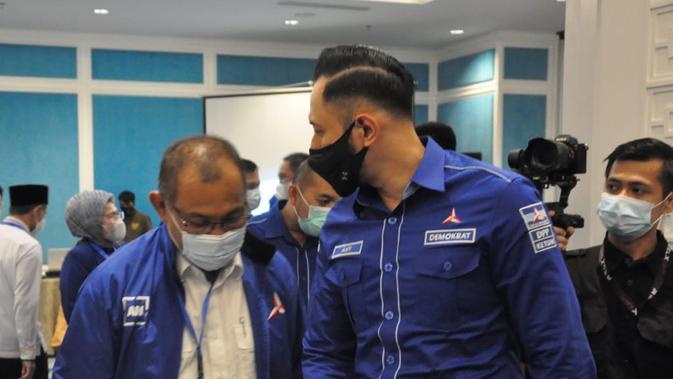 Kunjungan AHY ke Medan sebagai dukungan moril untuk Akhyar-Salman di Pilkada (Istimewa)