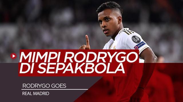Berita Video Wonderkid Real Madrid, Rodrygo Goes Bermimpi Bisa Bermain dengan Cristiano Ronaldo