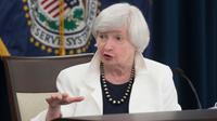 Janet Yellen, pemimpin departemen keuangan AS yang ditunjuk oleh presiden terpilih Joe Biden. (Twitter/ @NewYorkFed)