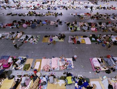 Topan In-Fa Landa China, Ribuan Warga Dievakuasi