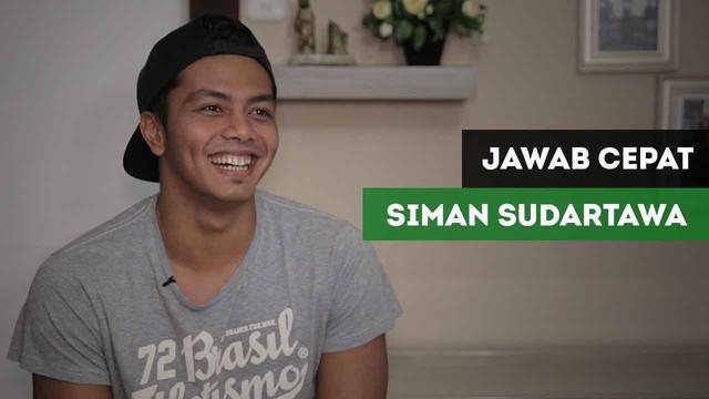 Berita video jawab cepat atlet renang Indonesia, Siman Sudartawa, tentang e-sports.