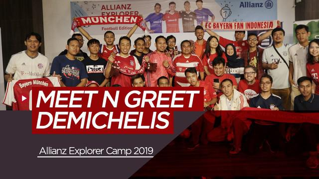 Berita Video Demichelis Terkesan dengan Sambutan Fans di Meet and Greet Allianz Explorer Camp 2019