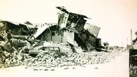 Gempa mengguncang kota Quetta, Pakistan tahun 1935 (Wikipedia)